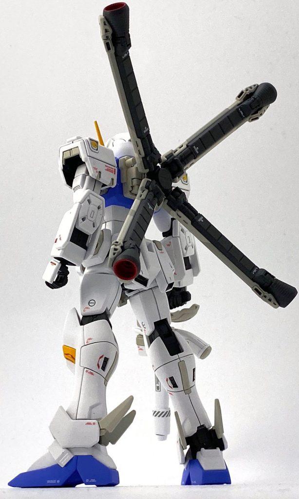 """ガンダムF97 """"クロスボーン"""" (HGUC改造) アピールショット5"""