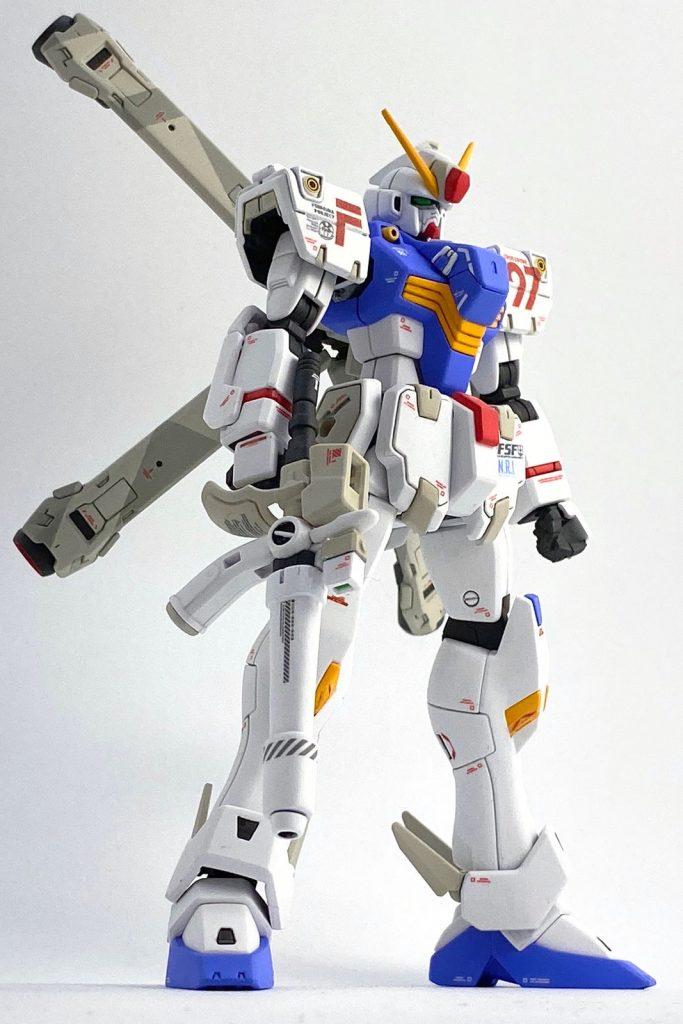 """ガンダムF97 """"クロスボーン"""" (HGUC改造) アピールショット3"""