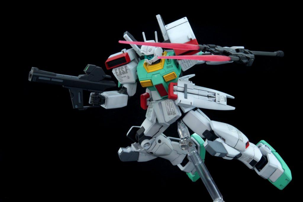 HGUC ジムIII(ネェルアーガマ配備機) アピールショット3