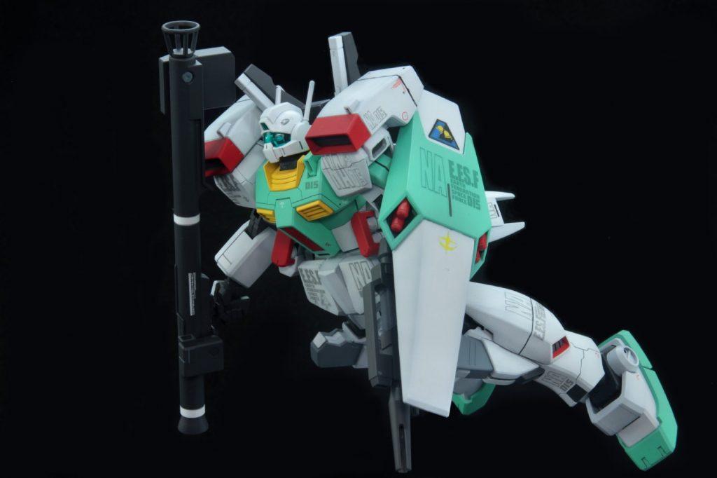 HGUC ジムIII(ネェルアーガマ配備機) アピールショット5