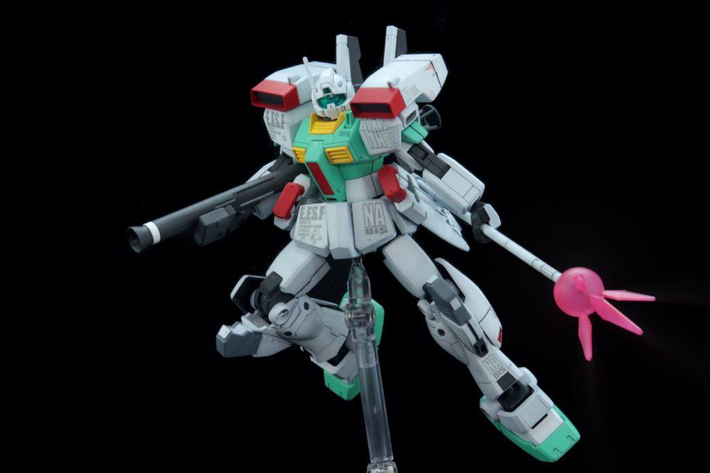 HGUC ジムIII(ネェルアーガマ配備機) アピールショット6