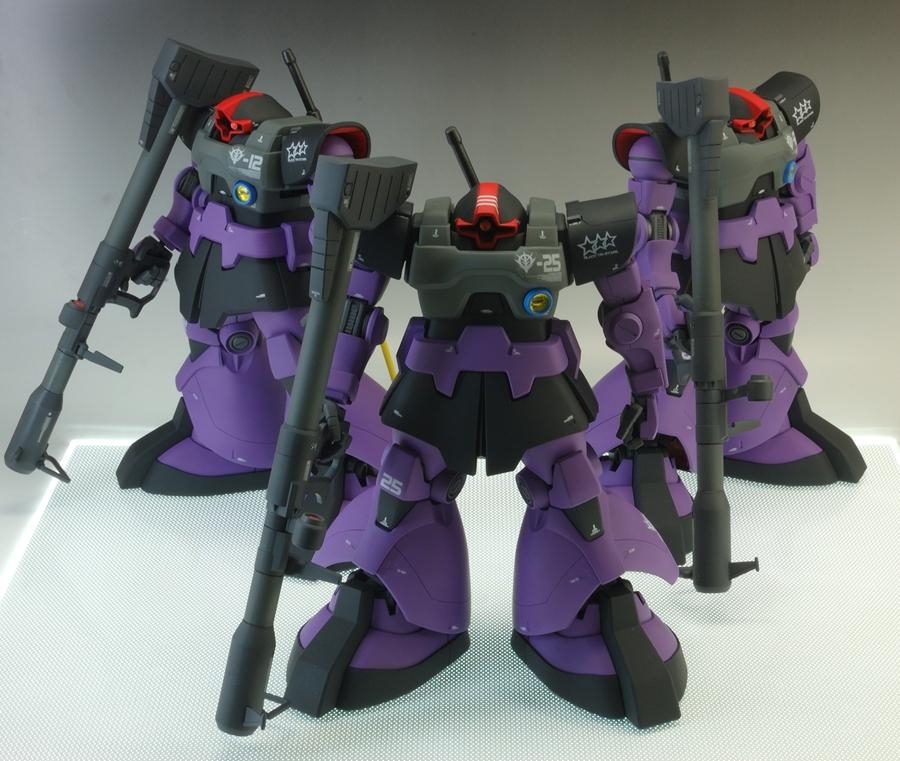 MG ドム 黒い三連星 アピールショット2