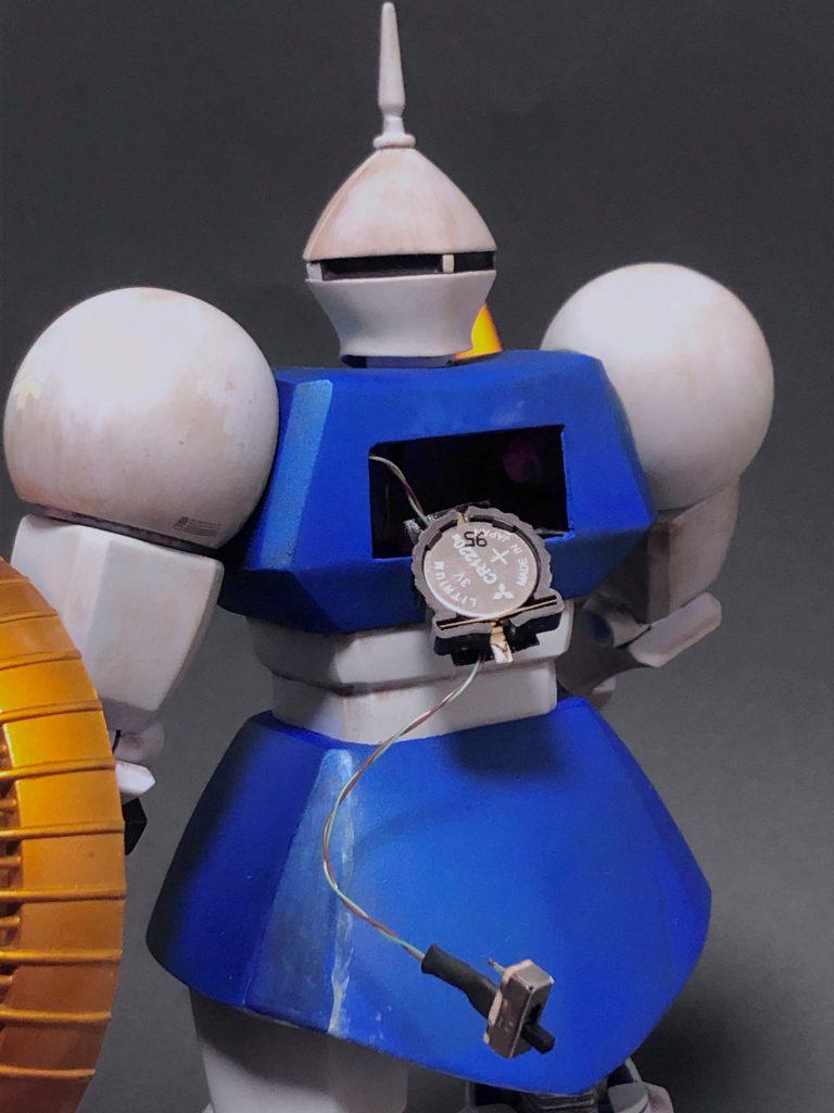 1/100 YMS-15 ギャン 制作工程3
