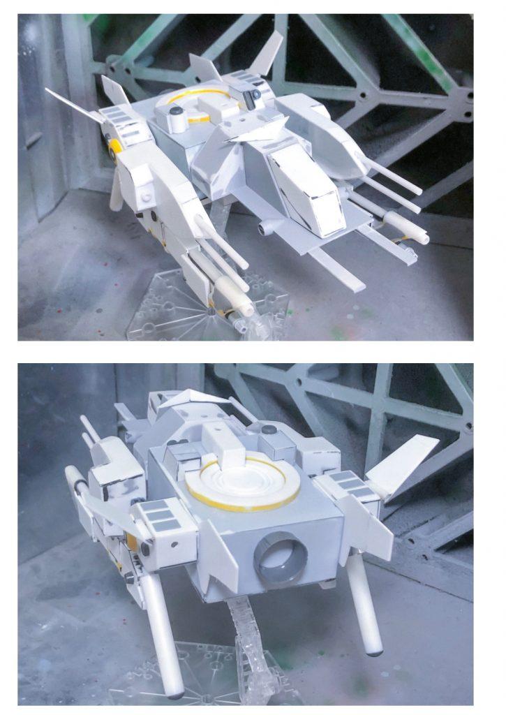 SDCS Vコマンドガンダム 制作工程3