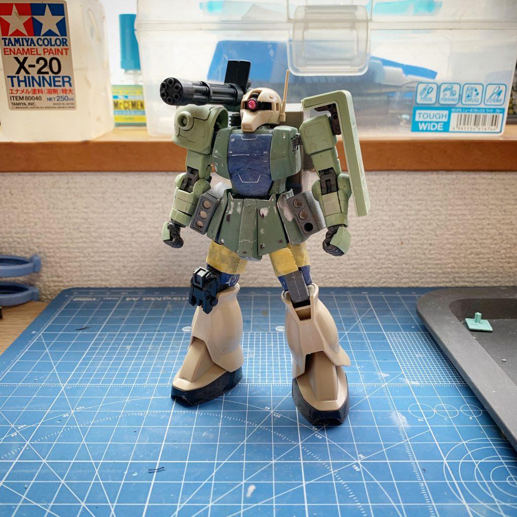 ザクⅠ対空戦闘型 制作工程3