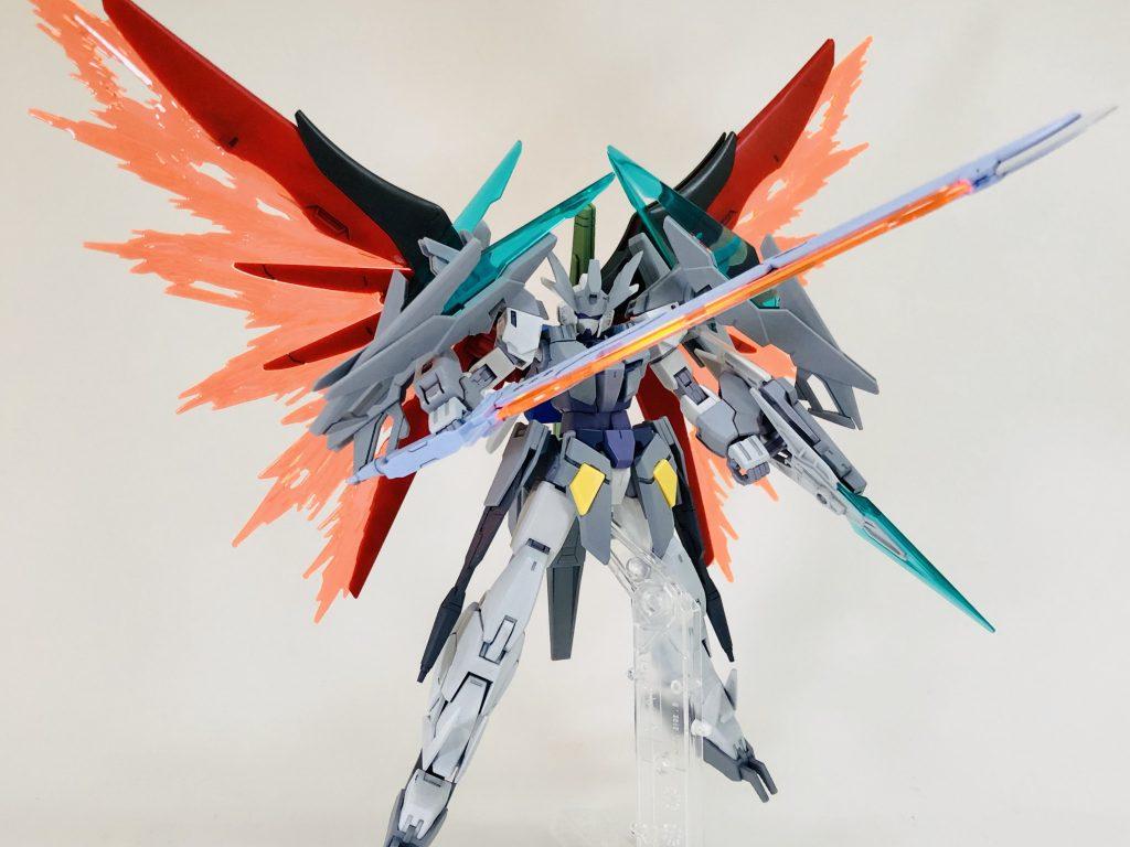纏え、GBN最強の剣!-AGEⅡマグナムアーマー 制作工程7