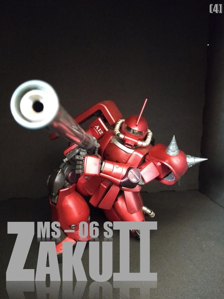 MS-06S ZAKUⅡ No1 アピールショット4