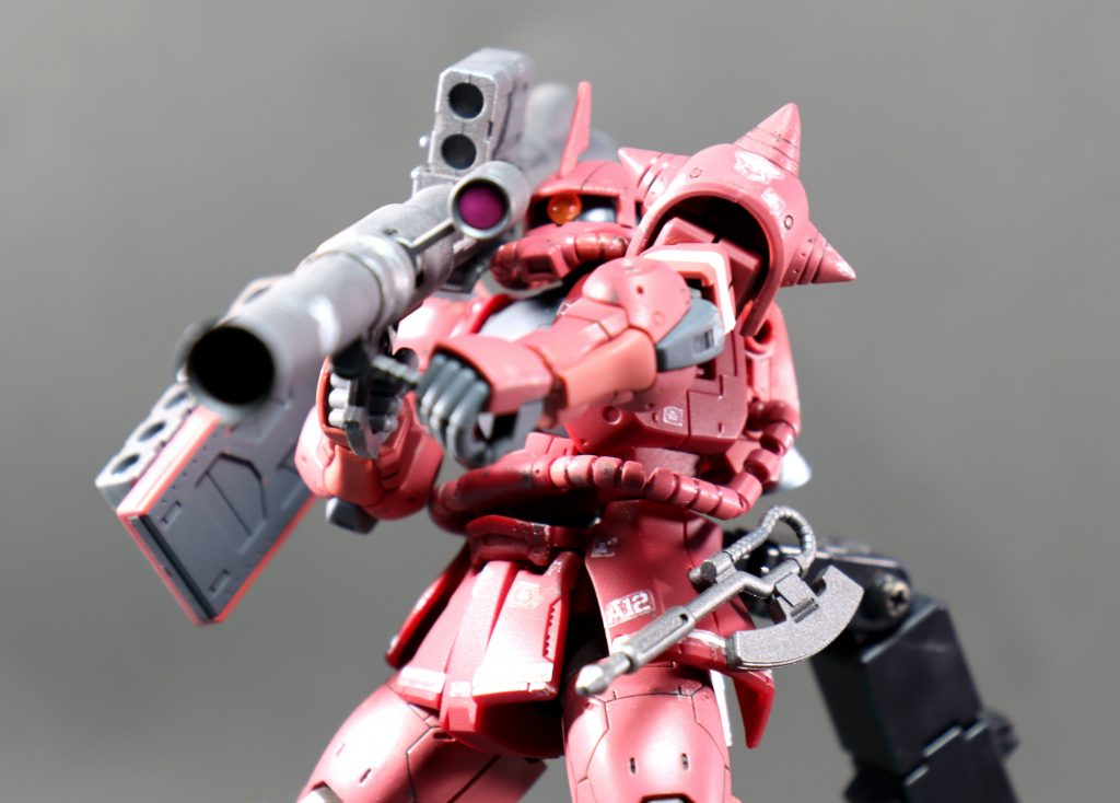 HG シャア専用ザクII アピールショット4