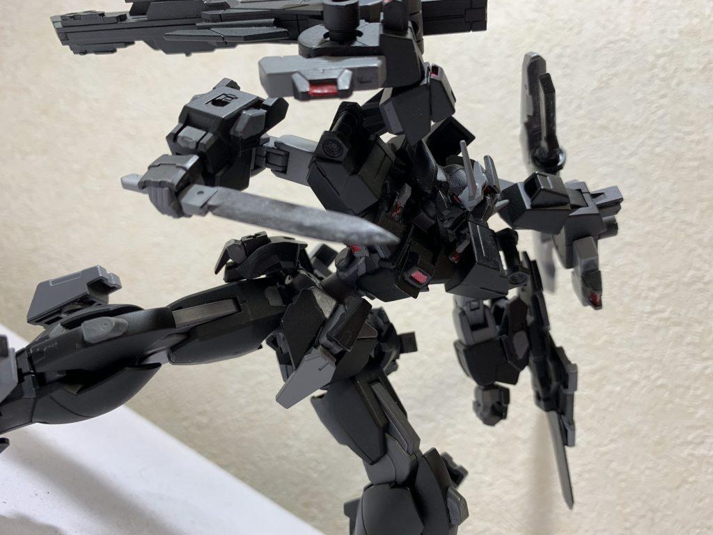 MS-typeG-07 ガンダムリベリオン アピールショット5