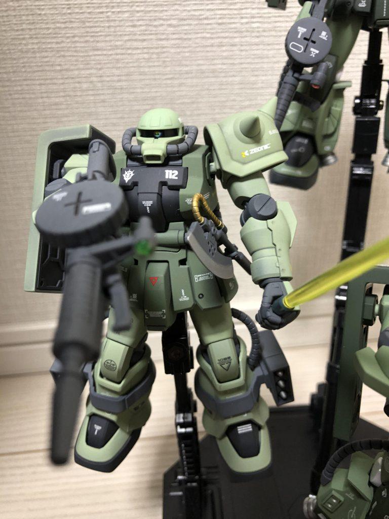 高機動型ザク 三連星 アピールショット3