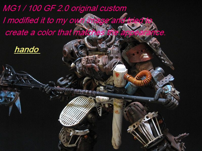 MG1/100グフオリジナルカスタム