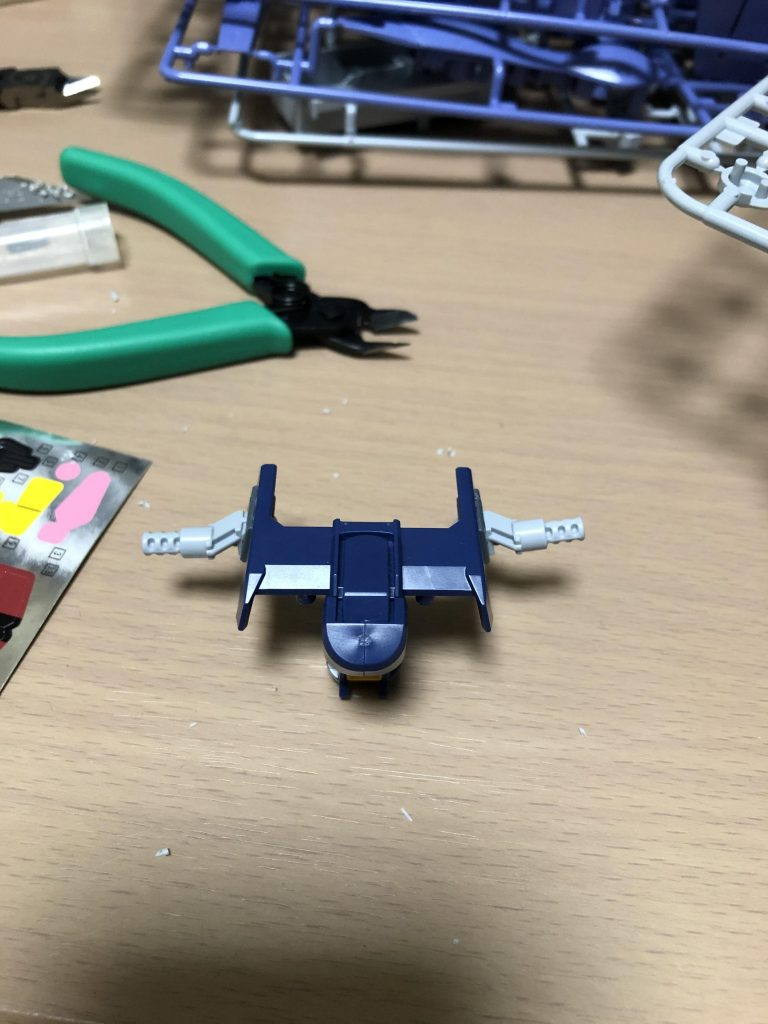 ヘイズル高機動型ブースター装備 アピールショット6