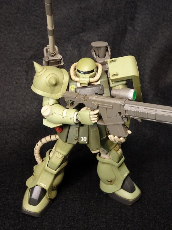 HGUC F2ザク(砲撃戦装備仕様) アピールショット2