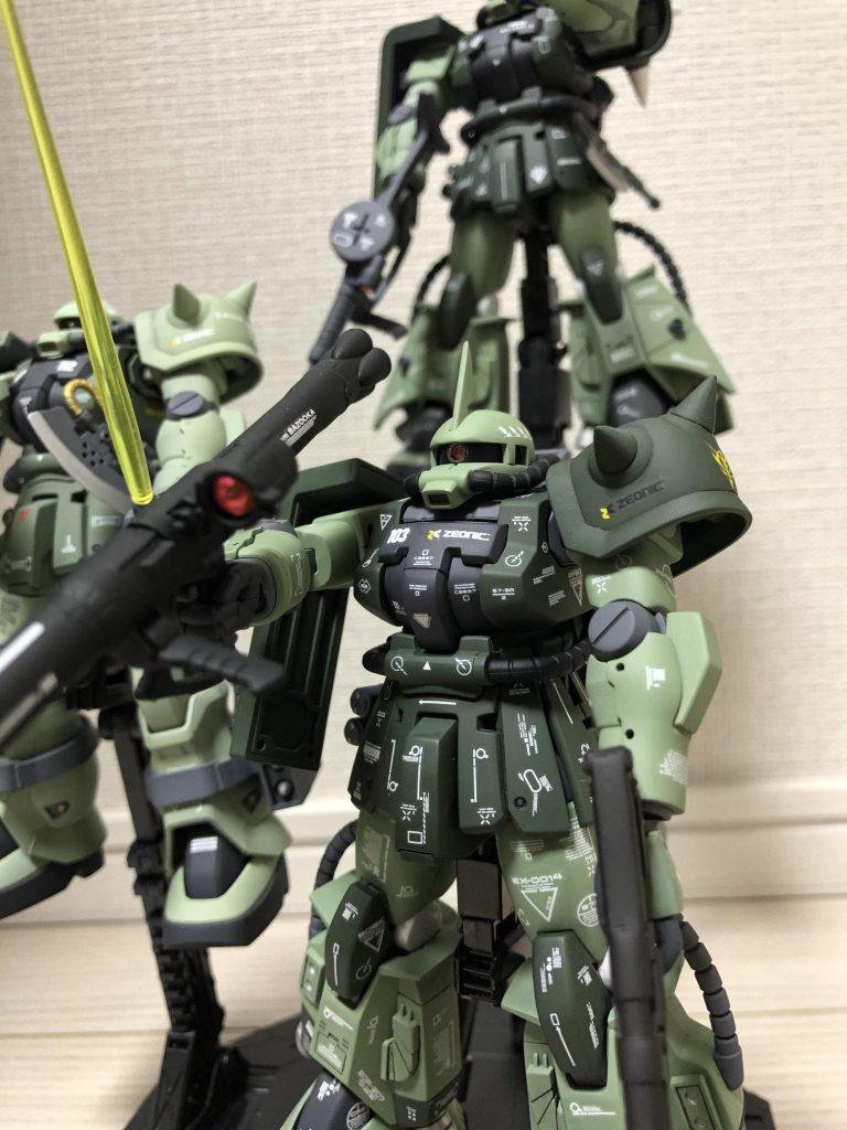 高機動型ザク 三連星 アピールショット2