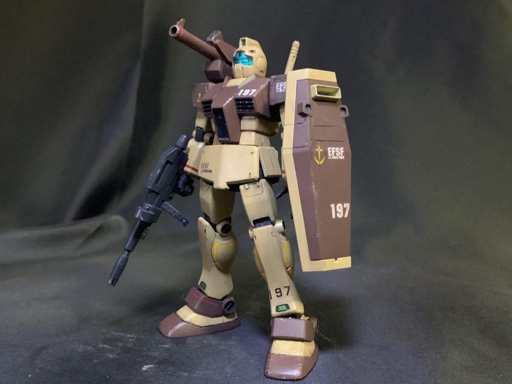 HG GM中距離支援型 アフリカ戦線イメージカラー