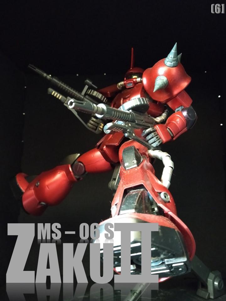 MS-06S ZAKUⅡ No1 制作工程2