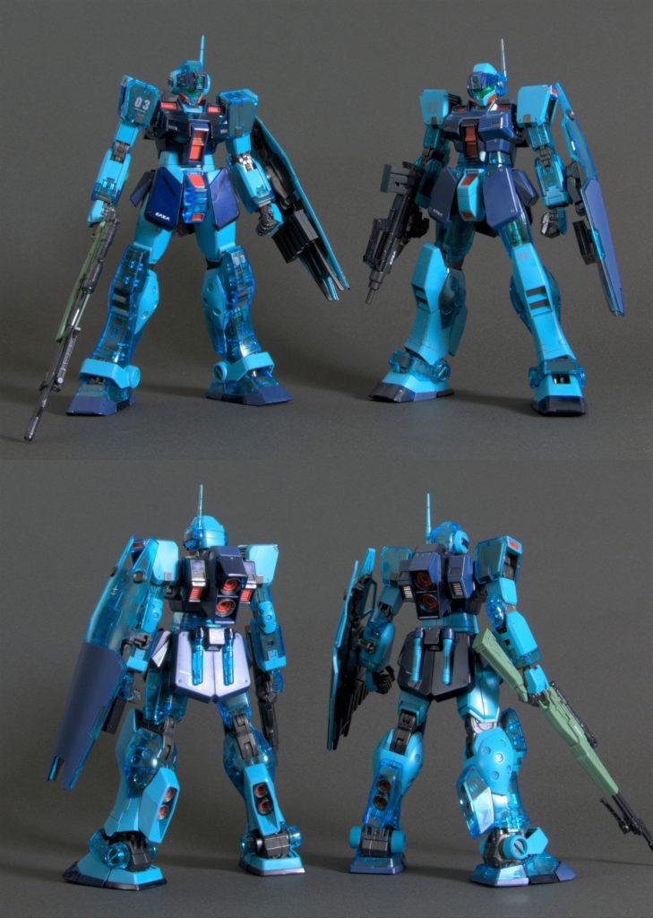 MG ジムスナイパーⅡ ソリッドクリア アピールショット1