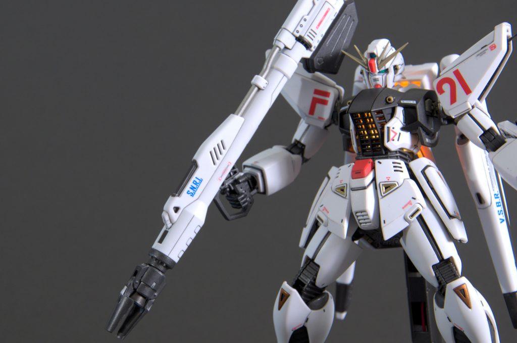 MG ガンダムF91 Ver.2.0 アピールショット8