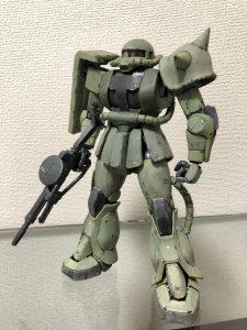 MG 1/100 MS-06J ザクⅡ ver.2.0