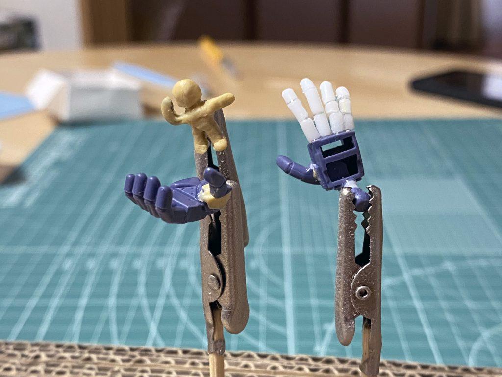ザクII改(ポケットの中の戦争) 制作工程2