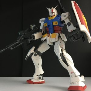 MG THE ORIGIN RX-78-02 ガンダム