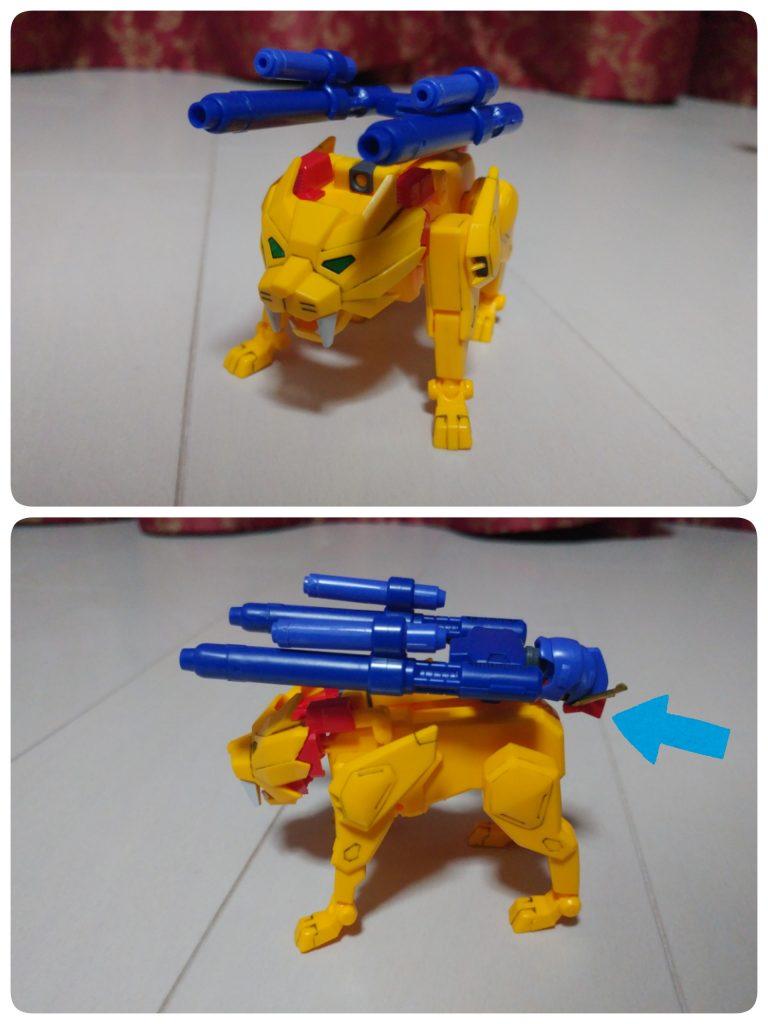 ガンダム トライオン3  (俺カスタム) アピールショット7