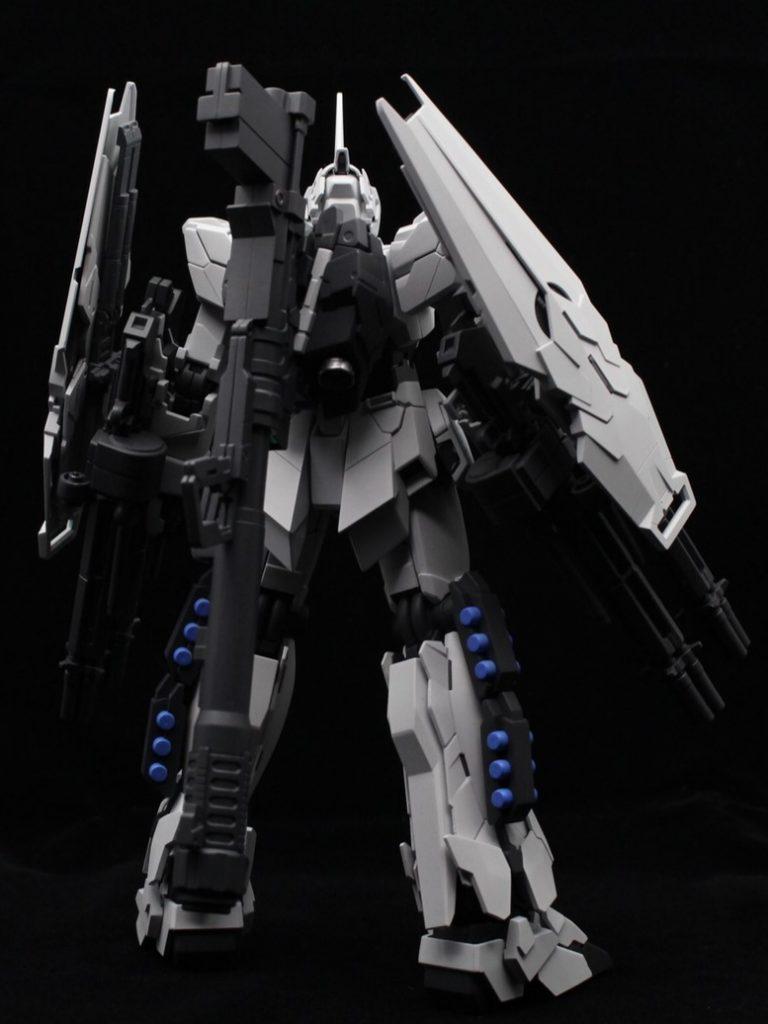 MG ユニコーンガンダム(ユニコーンモード) アピールショット3