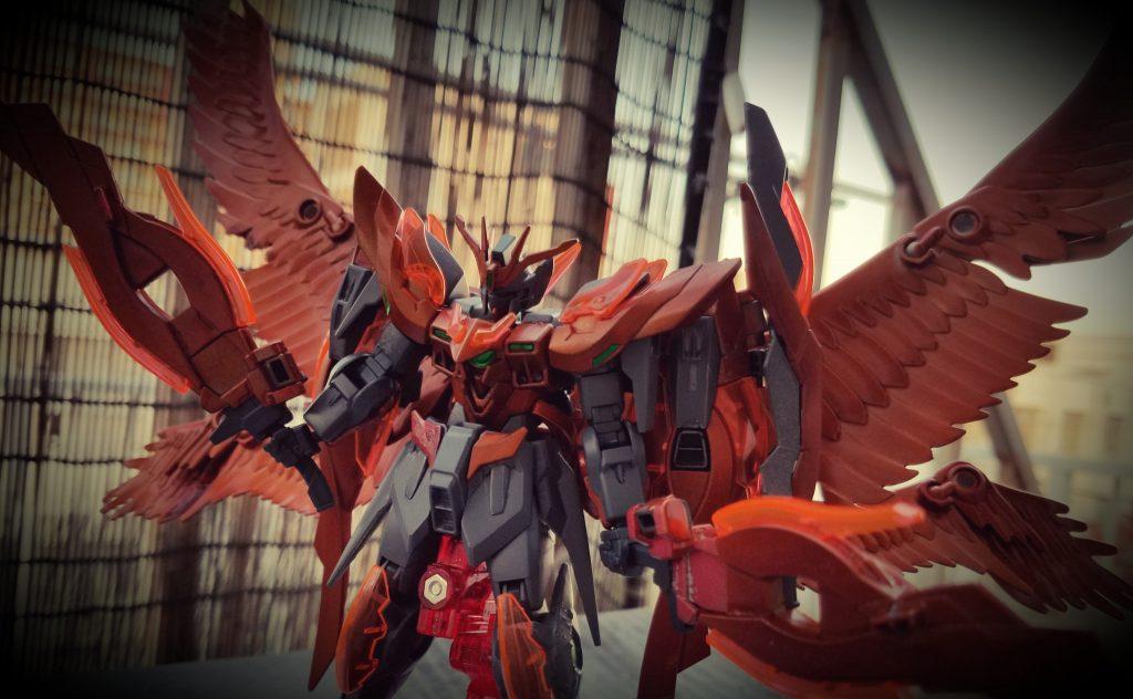 橙翼のウィングゼロラファエル アピールショット1