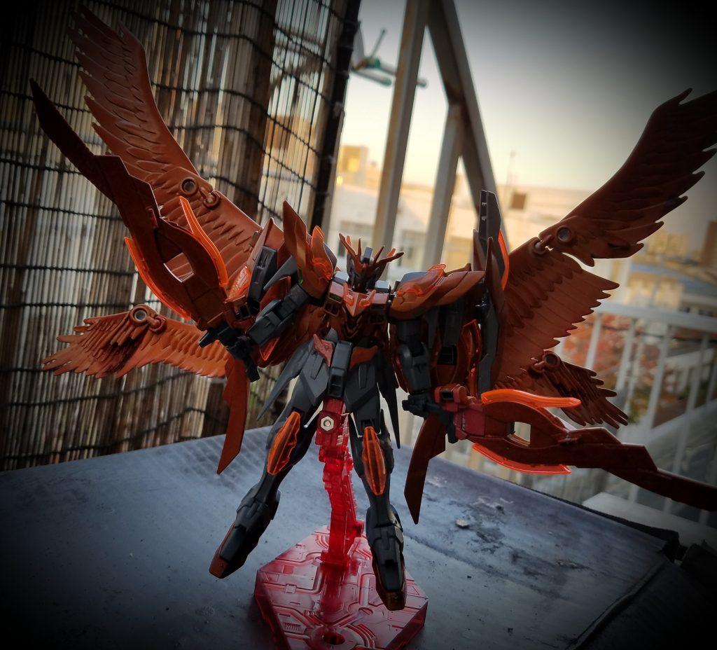 橙翼のウィングゼロラファエル アピールショット2