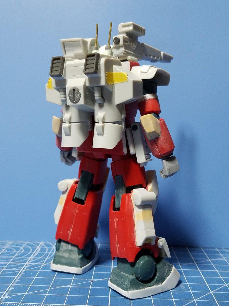 [041]RX-77-4 ガンキャノンⅡ 制作工程4