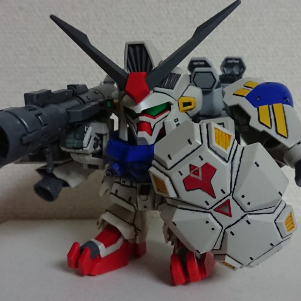 SD BB戦士 GP-02 A & MLRS 仕様