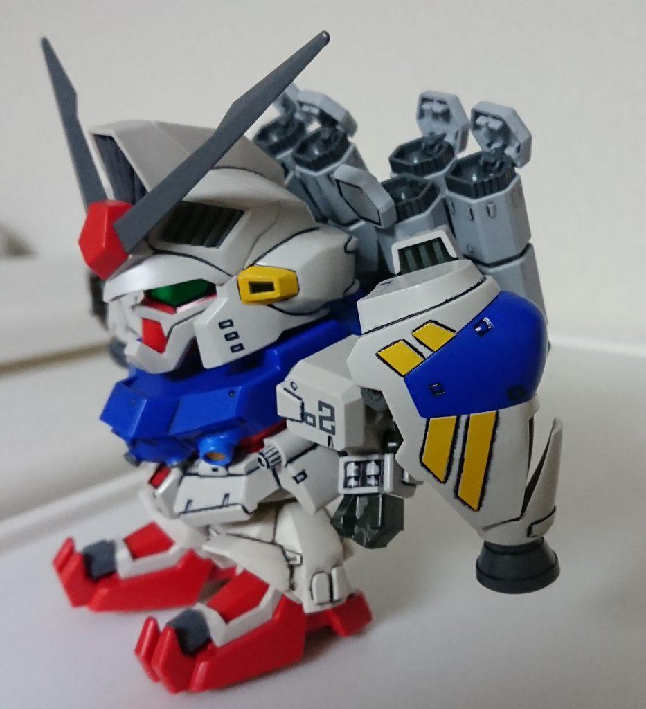 SD BB戦士 GP-02 A & MLRS 仕様 制作工程2