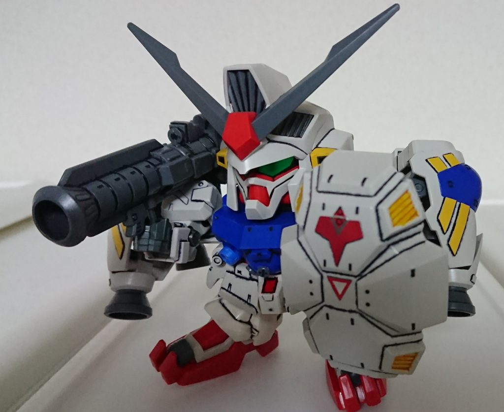 SD BB戦士 GP-02 A & MLRS 仕様 アピールショット3