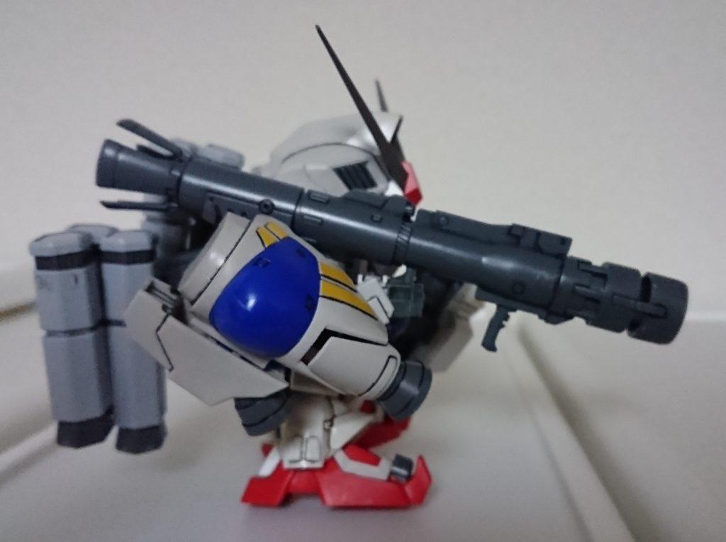 SD BB戦士 GP-02 A & MLRS 仕様 アピールショット2