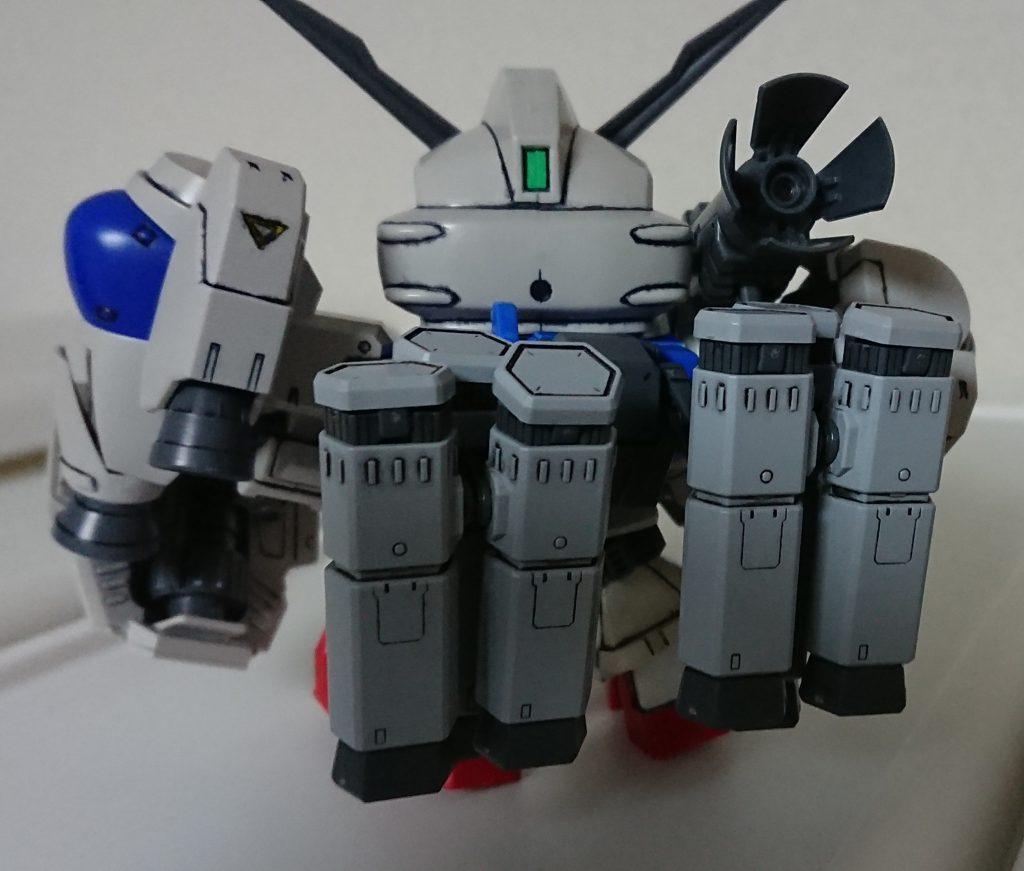 SD BB戦士 GP-02 A & MLRS 仕様 アピールショット4