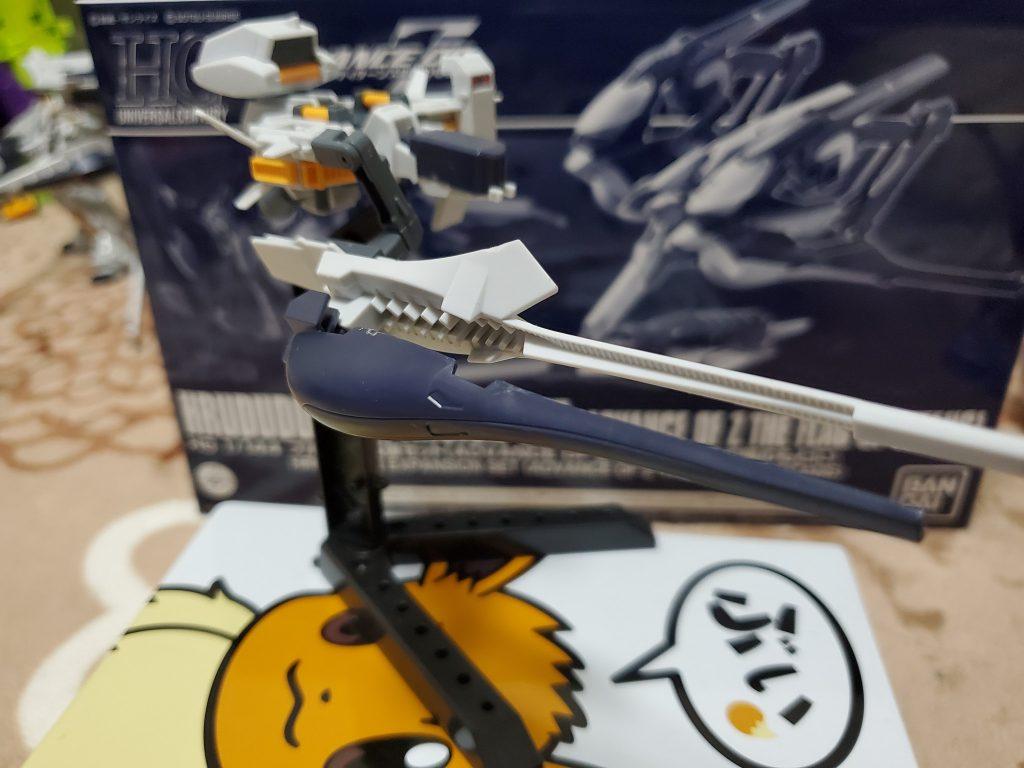 フルドド2+プリムローズ 支援戦闘機 制作工程3