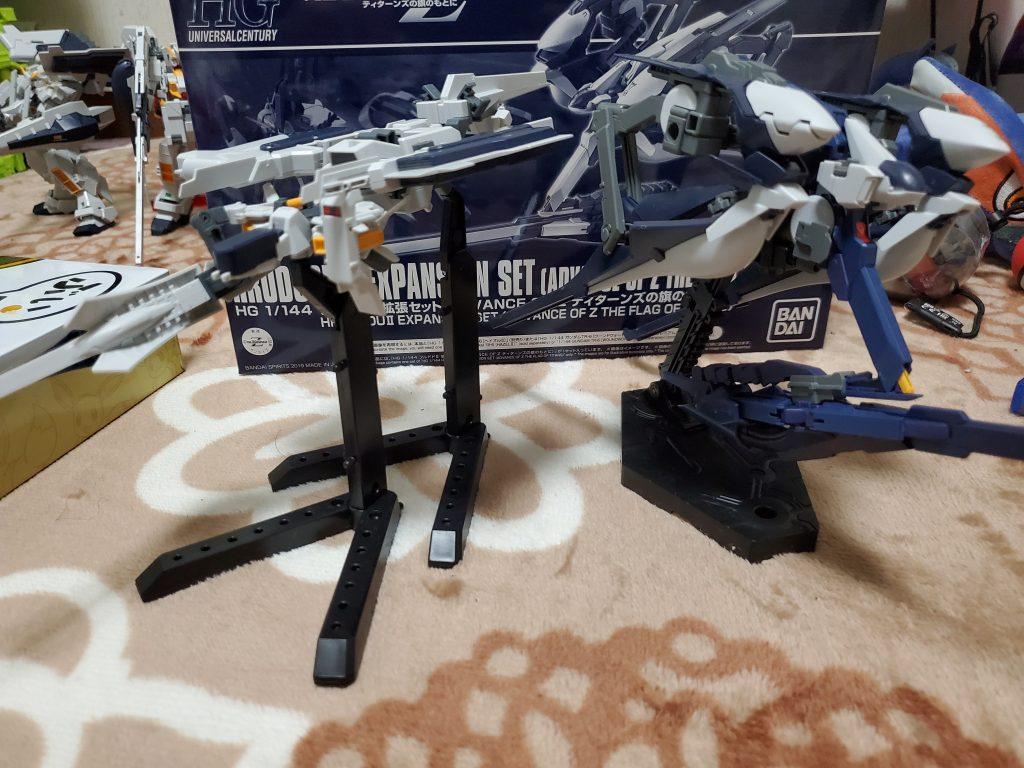 フルドド2+プリムローズ 支援戦闘機 制作工程4