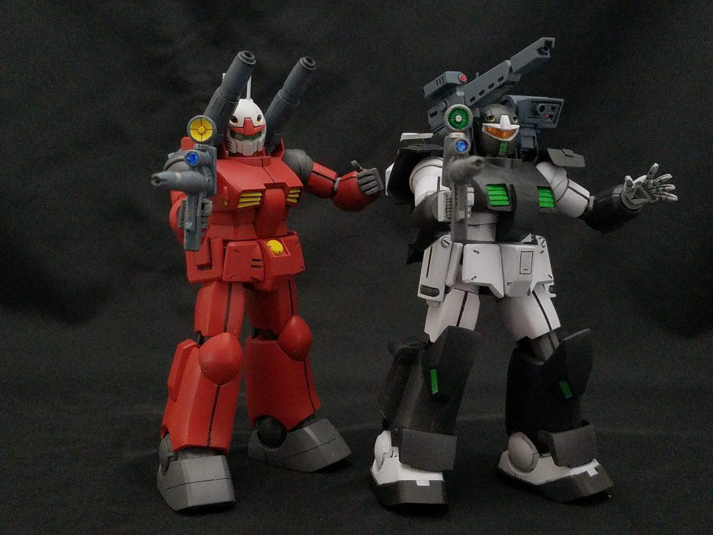[041]RX-77-4 ガンキャノンⅡ 制作工程1
