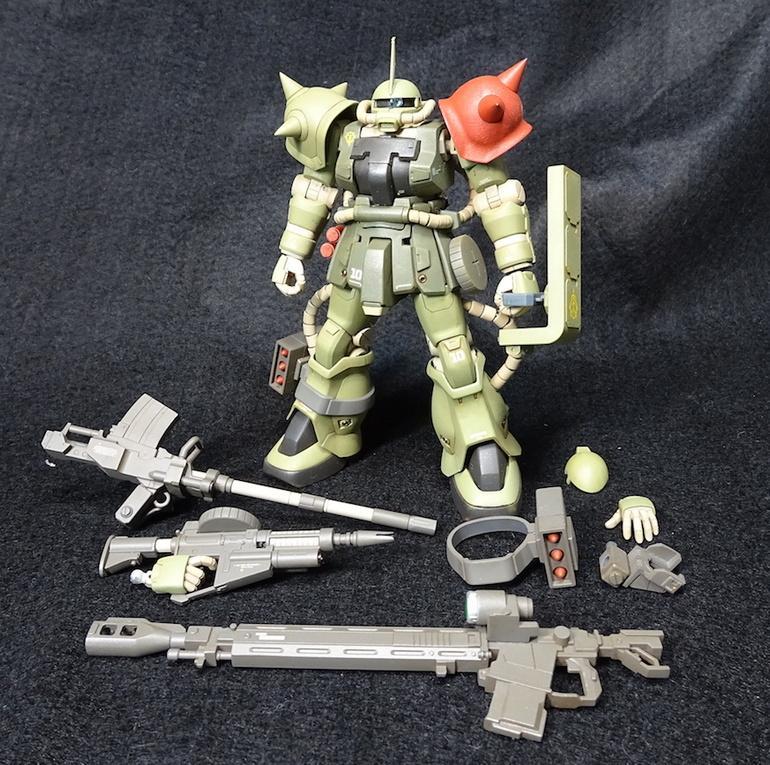 HGUC F2ザク(砲撃戦装備仕様) アピールショット5