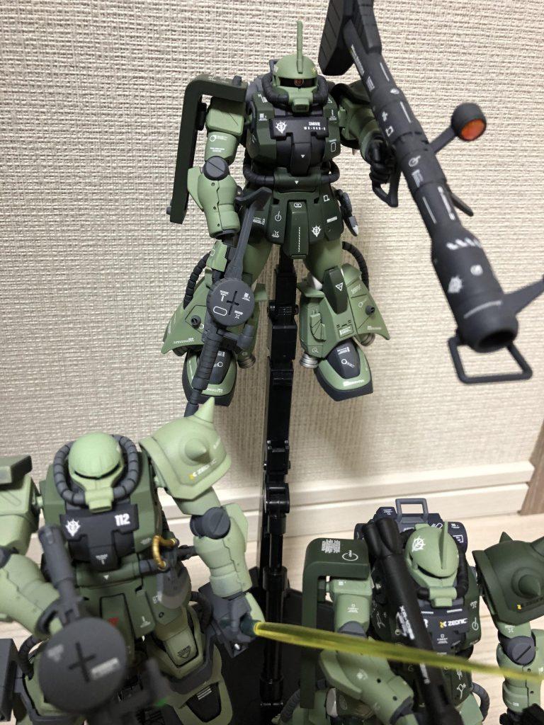 高機動型ザク 三連星 アピールショット1