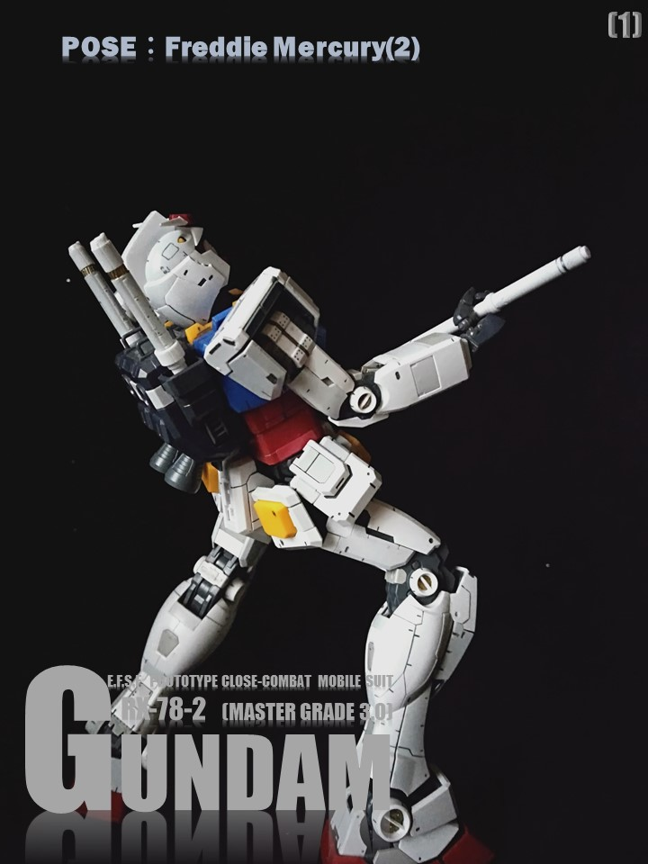 RX-78-2 GUMDAM MASTER GRADE 3.0 No2 アピールショット1