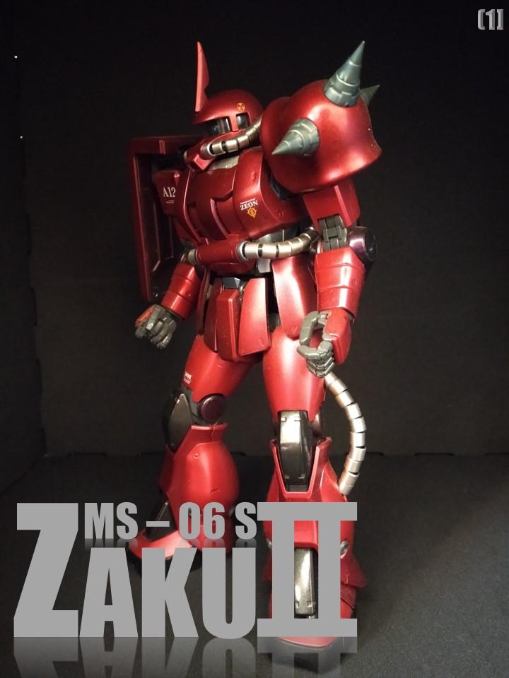 MS-06S ZAKUⅡ No1 アピールショット1