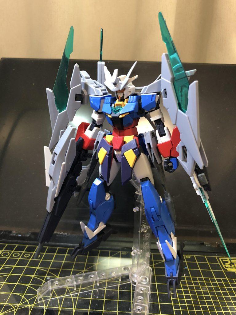 纏え、GBN最強の剣!-AGEⅡマグナムアーマー 制作工程1