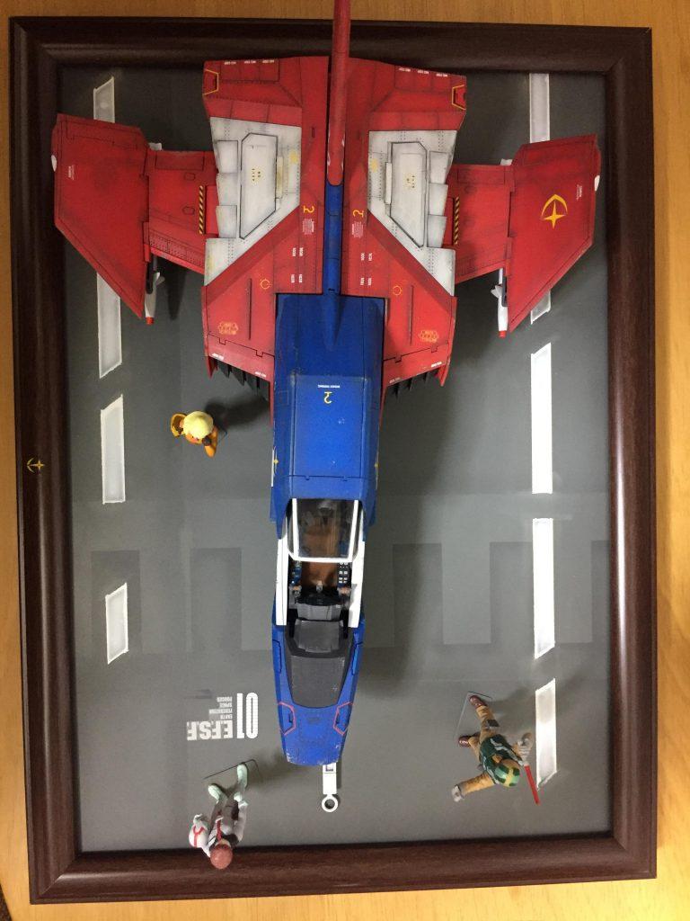 FF-X7 CORE FIGHTER アピールショット3