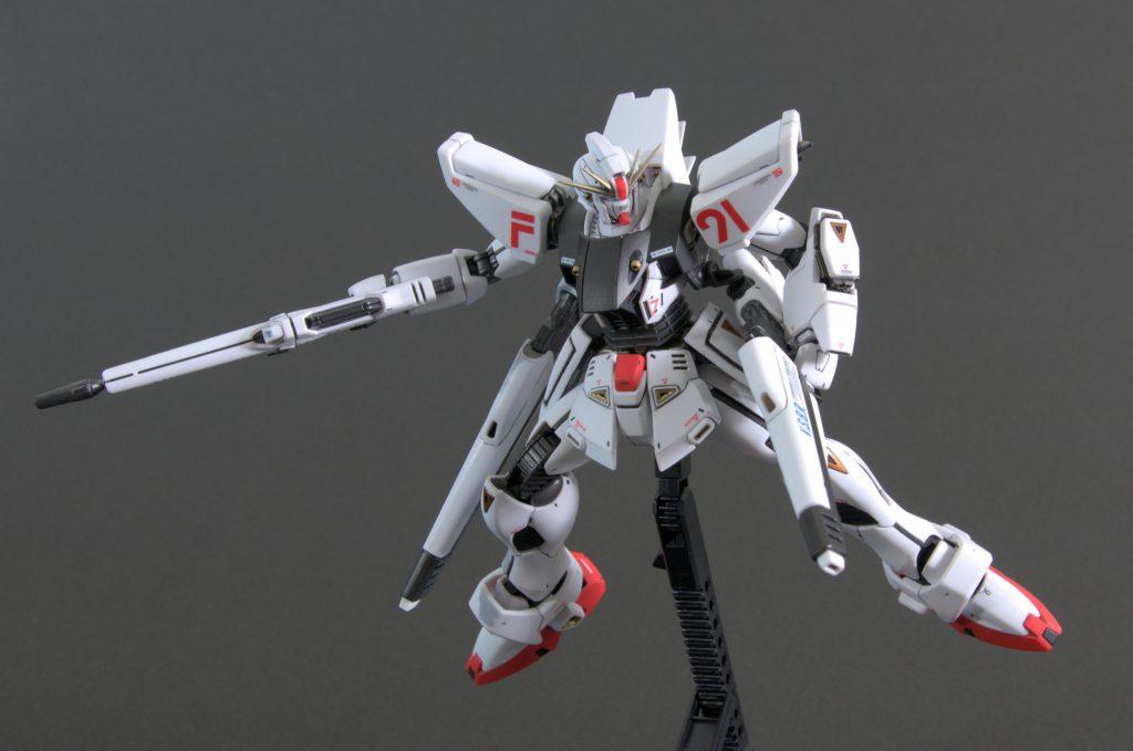 MG ガンダムF91 Ver.2.0 アピールショット4