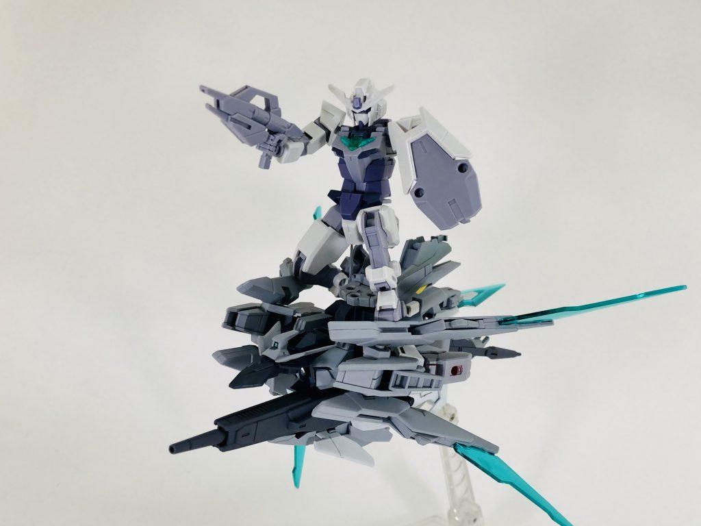 纏え、GBN最強の剣!-AGEⅡマグナムアーマー アピールショット1