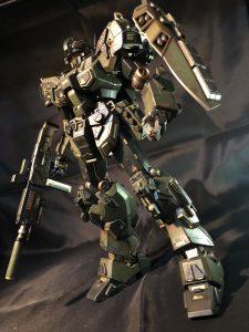 MG RGM-96X ジェスタ アレンジ塗装