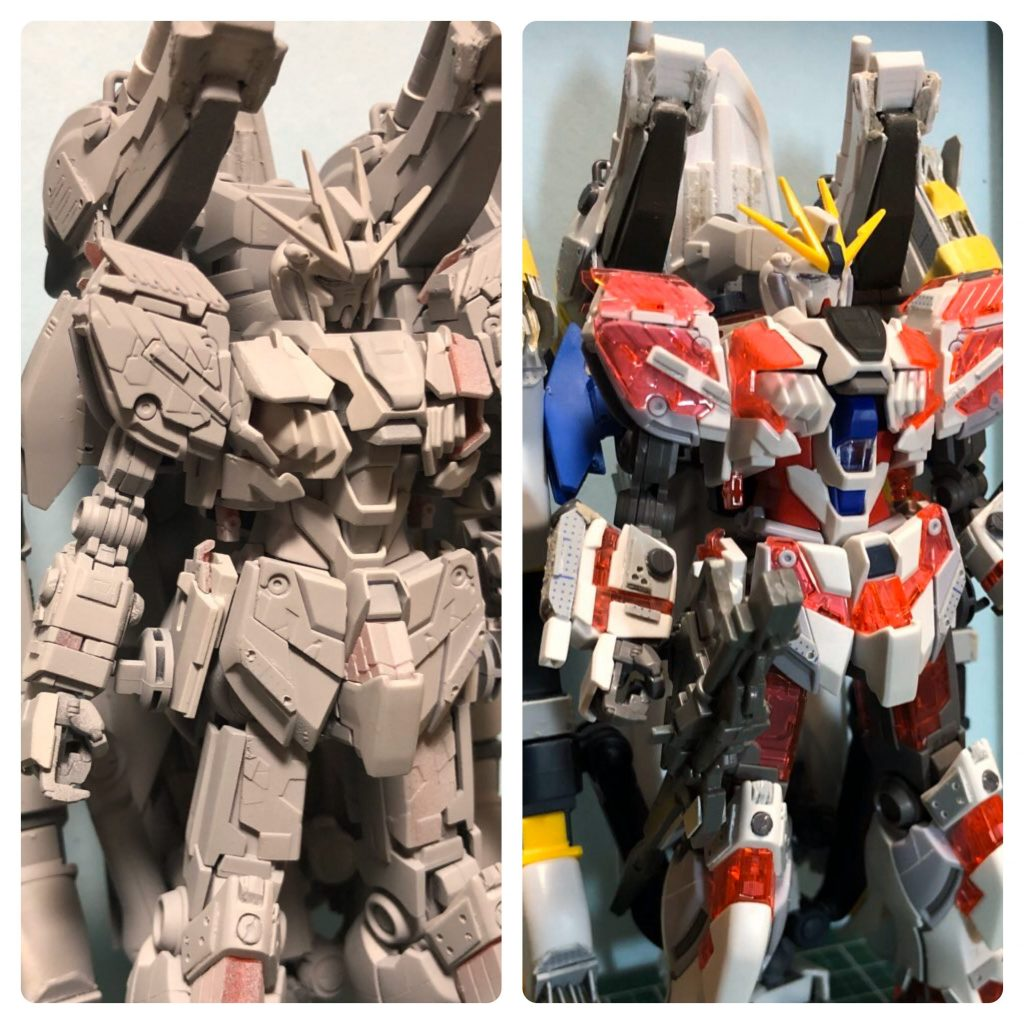 RX-9/W NARRATIVE GUNDAM W-SARF 制作工程8