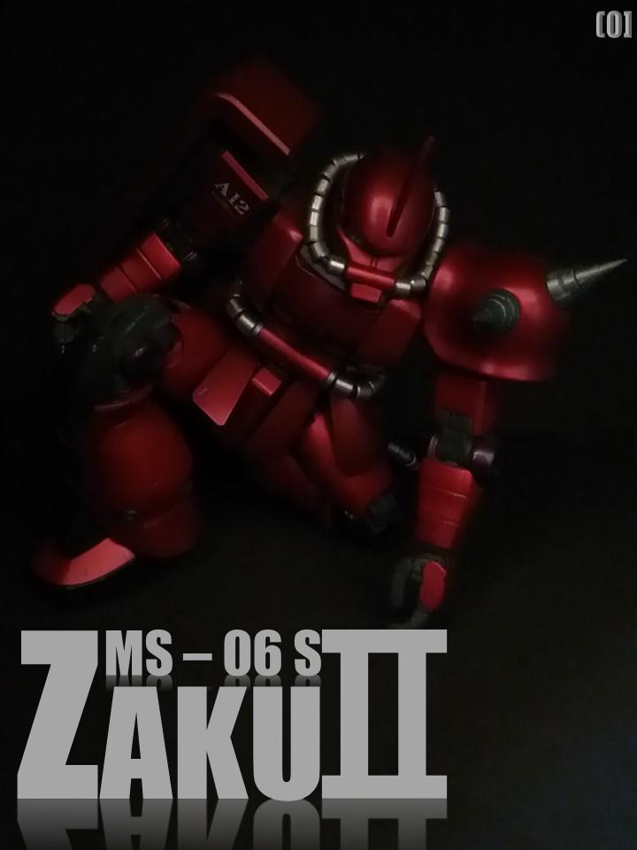 MS-06S ZAKUⅡ No1