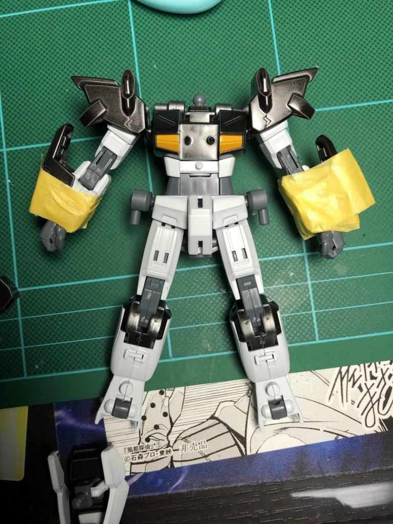 エクストリームガンダムtype.ZX 制作工程4